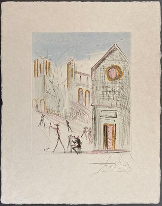 Salvador Dalí - Saint Julien le Pauvre