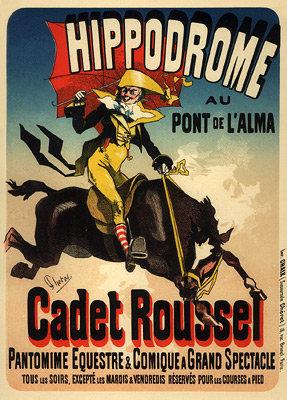 Jules Chéret - Cadet Roussel