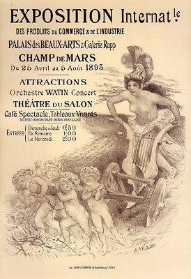 Adolphe Willette - Exposition Internationale des Produits du Commerce