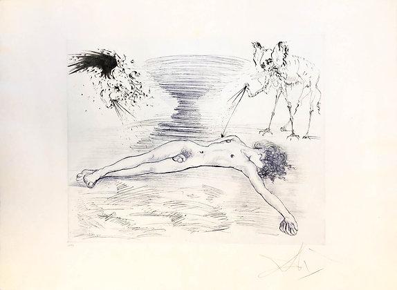 Salvador Dalí - Hypnos