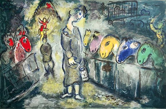 Marc Chagall - Le Cirque M. 510