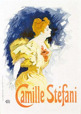 Jules Chéret - Camille Stéfani