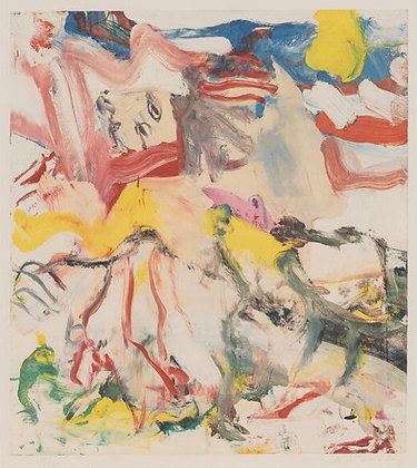 Willem de Kooning - Figures in Landscape VI