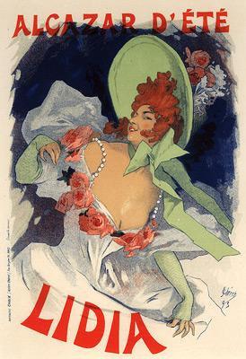 Jules Chéret - Lidia