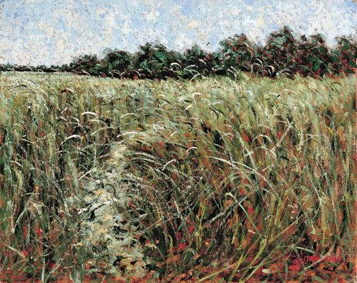 Samir Sammoun - Green Wheat Field