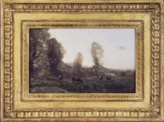 Jean Baptiste Camille Corot - Le Patre aux Trois Vaches