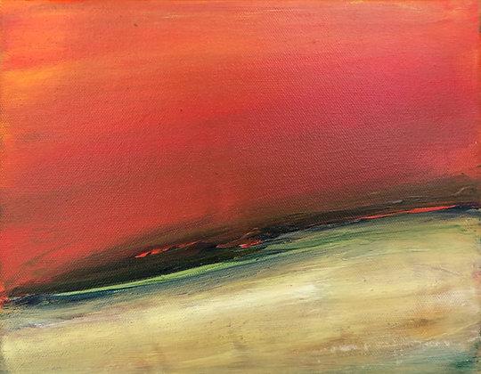 Elizabeth DaCosta Ahern - Earth + Sky Series #1003