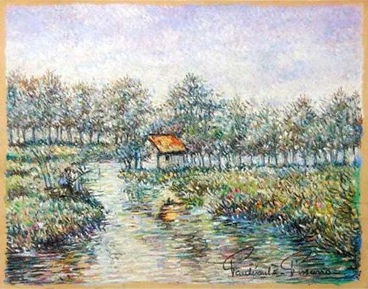 Paulémile Pissarro - La Partie de Peche