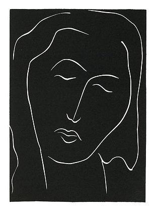 Henri Matisse - . . . DORS, DORMEUSE AUX LONGS CILS . . .