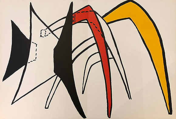 Alexander Calder - The Giant Yellow Ant-Eater