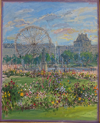 Bruno Zupan - Ferris Wheel in Tuileries Garden