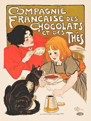 Theophile-Alexandre Steinlen - Compagnie Francaise des Chocolats et des Thès