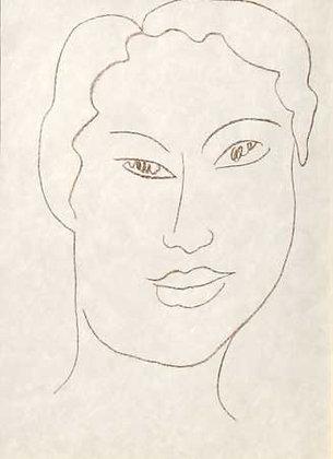 Henri Matisse - Tete de Jeune Fille