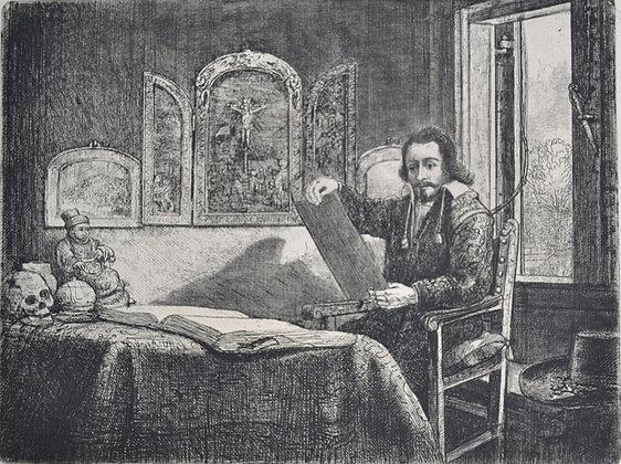 Rembrandt Harmensz Van Rijn - Abraham Francen, Apothecary
