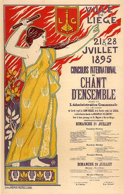 Auguste Donnay - Concours International de Chant, a Liege