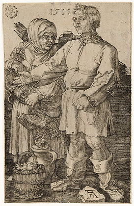 Albrecht Dürer - The Peasant and His Wife at Market