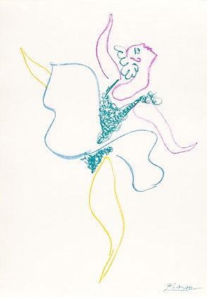 Pablo Picasso - Danseuse