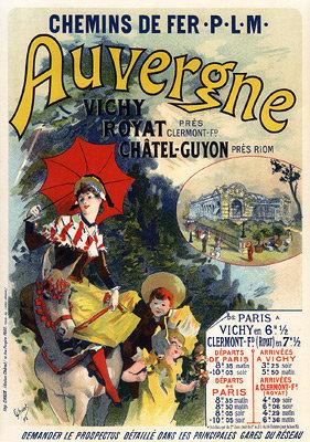 Jules Chéret - L'Auvergne