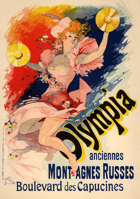 Jules Chéret - Olympia