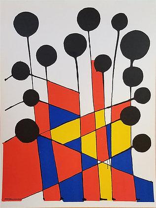 Alexander Calder - Jardin Fleuriste