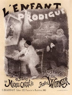 Adolphe Willette - L'Enfant Prodigue
