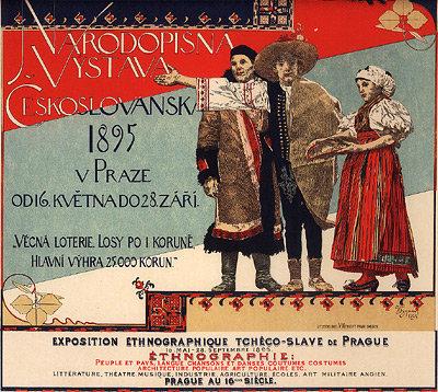 Voytech Hynais - Exposition Ethnographique de Prague