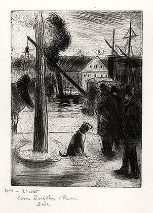 Camille Pissarro - Cours Boieldieu, à Rouen