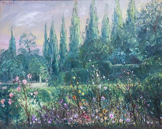 Bruno Zupan - Detail from Cartuja Garden