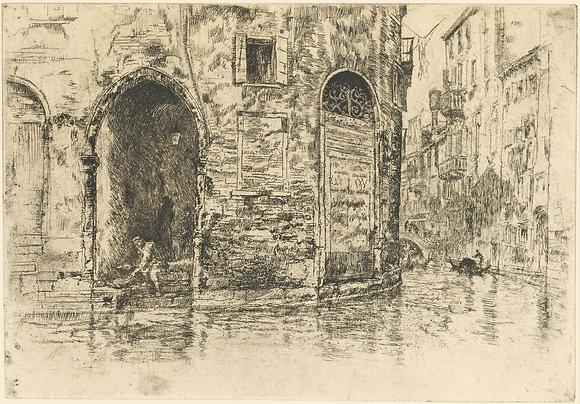 James Abbott McNeill Whistler - The Two Doorways