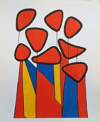 Alexander Calder - Le Fleurs