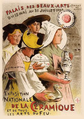 Etienne Moreau-Nelaton - Exposition Nationale de la Ceramique