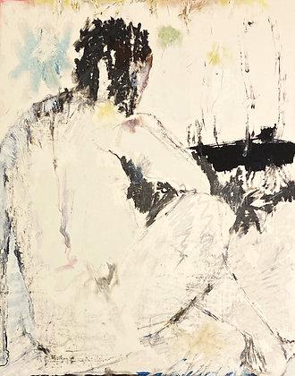 Stanley Boxer - Untitled Figure Study (255d-59)