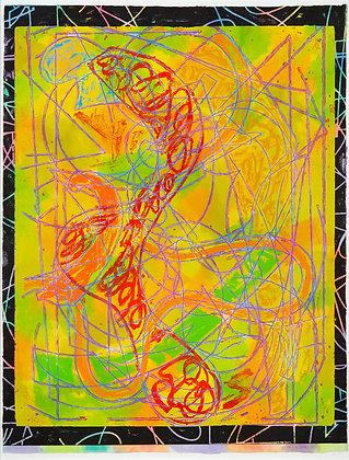 Frank Stella - Estoril Five I