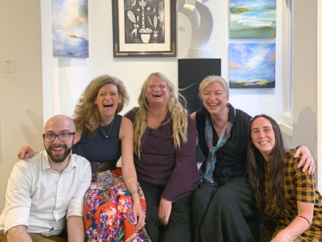 We're Back! One Sky: Kathy Buist and Gustavo Torres Gallery Reception