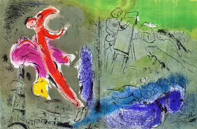 Marc Chagall - Visions des Paris