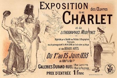 Adolphe Willette - Exposition Charlet
