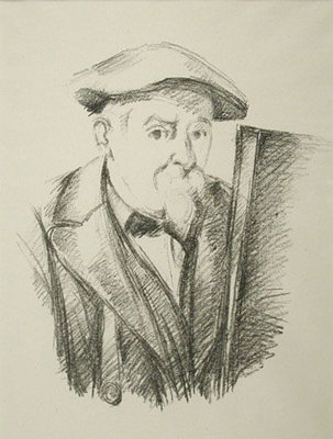 Paul Cézanne - Portrait de Cézanne Par Lui-Meme