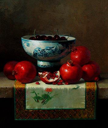 Carle Shi - Bowl with Pomegranates