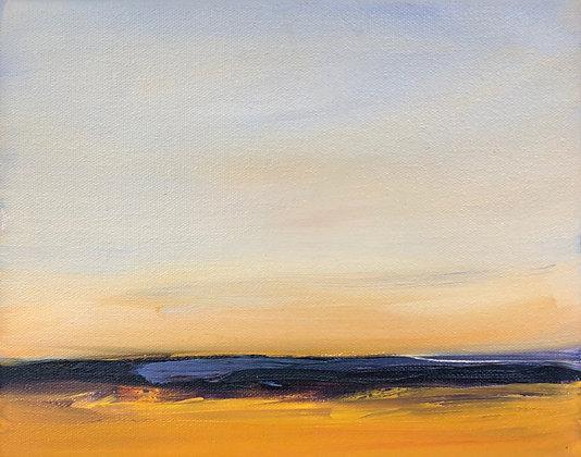 Elizabeth DaCosta Ahern - Fields of Lavender