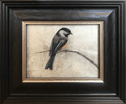 Anne McGrory - Single Chickadee