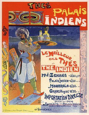 Georges de Feure - Thés du Palais Indien