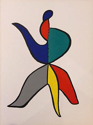Alexander Calder - Bouquet Phrygean