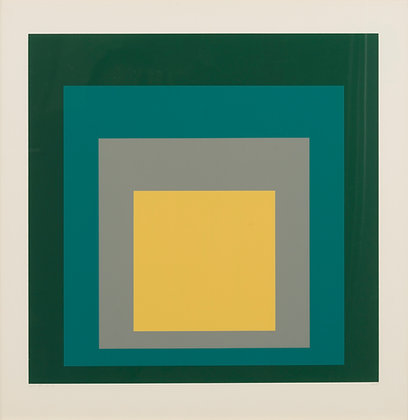 Josef Albers - Homage to the Square: SP - VI