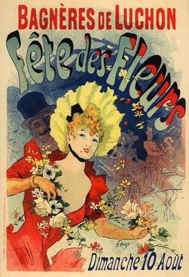 Jules Chéret - Fête des Fleurs