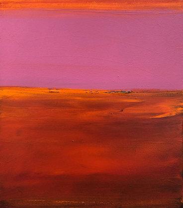 Elizabeth DaCosta Ahern - Magenta Sky