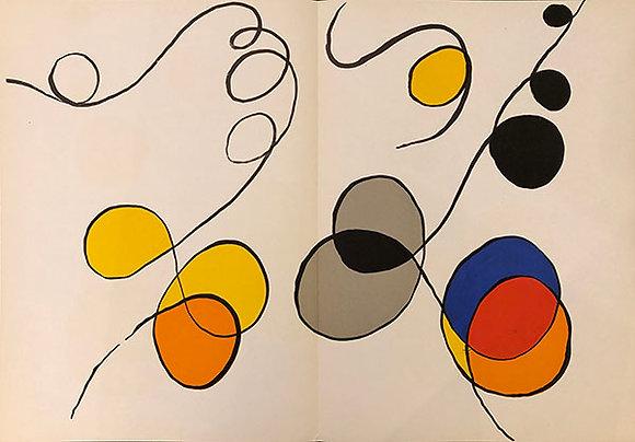 Alexander Calder - Derrière le Miroir 173 (Abstract IV)