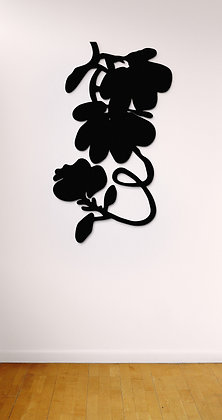 Donald Sultan - The Black Lantern Flowers