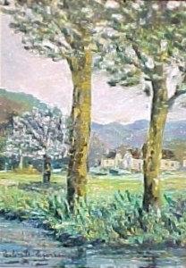 Paulémile Pissarro - Les Arbres de Rouen