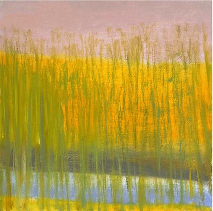 Wolf Kahn - By a Pond