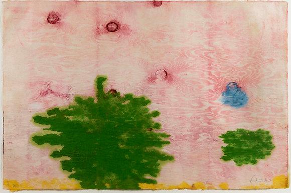 Helen Frankenthaler - Monotype XVIII